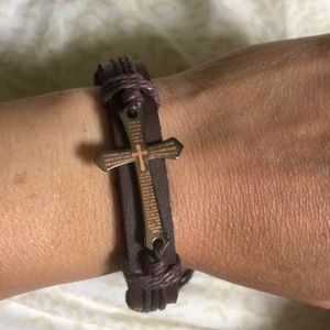 ✝️ Biblical Cross Bracelet